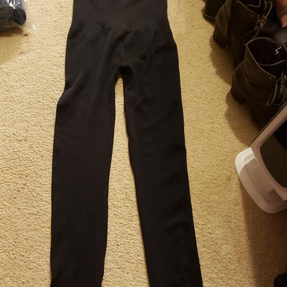 Ladies tummy control high waist leggings